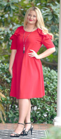 Addicted To Love Dress - Red