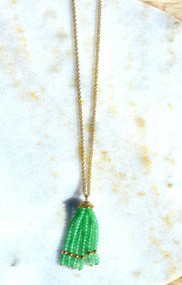 Inspired By You Necklace - Green