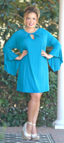 She's Got The Look Dress - Teal