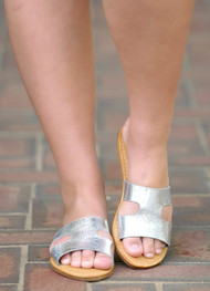 Maintaining Standards Sandal - Silver