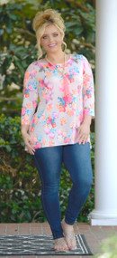 Melody In Bloom Floral Top