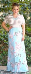Garden Fresh Floral Maxi Dress