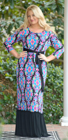 Spring Forward Maxi Dress - Multi