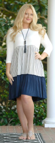 Daily Routines Dress - Navy