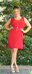 With Every Heartbeat Dress - Red