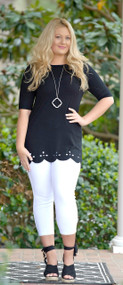Seize The Day Tunic Top - Black