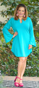 Show Me Off Dress/Tunic - Teal