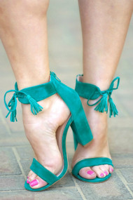 On Point Heels - Teal