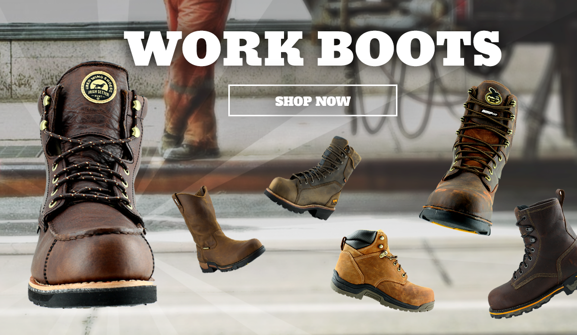 work boots great brands, great prices