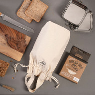 Organic Cotton Bread Bag - Block Loaf