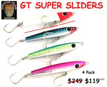 GT SUPER SLIDER POPPER  Hawaiian Island Designs  4 pack