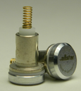 AllStar German Epee Tip with contact spring, can be interchanged with Ulhmann parts.