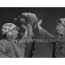 Marines and Bomb Exhibit Photo
