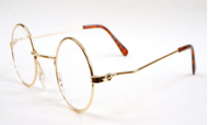 Benjamin Rd Reading Glasses / Gold