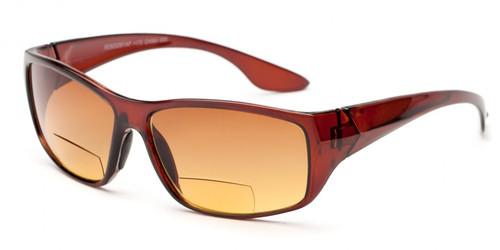 Bahama Bifocal Sun Reading Glasses / Amber