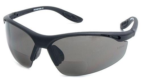 BL Sports Style  Bifocal Sun Reading Glasses / Smoke