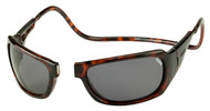 Clic Magnetic Monarch Polarized Sunglasses|Tortoise