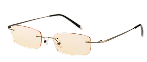 Unisex Computer Light Weight Reading Glasses/ Gunmetal