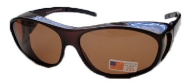 Polarized Over Your Glasses Sunglasses Amber
