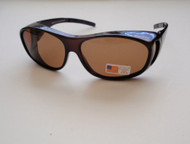 Polarized Over Your Glasses Sunglass Amber