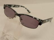 Geo Full Tinted Reading Glasses /Blue-Grey Demi