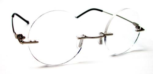 Harry Rd  Rimless Reading Glasses/ Gold