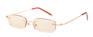 LP Lightweight Computer Reading Glasses/ Gold .00 .50