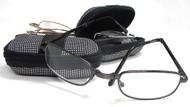 Mini Folding Reading Glasses / Zip Case