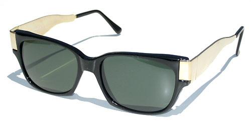 vintage black frame sunglases