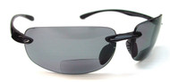 PC Bifocal  Sun Reading Glasses/Smoke