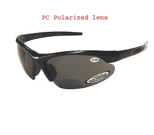 Classic Polarized  Bifocal Sun Reading Glasses/Smoke