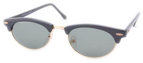 small cat eye sunglasses black