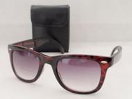Wayfarer Style  Folding Bifocal Reading Glasses/Sun
