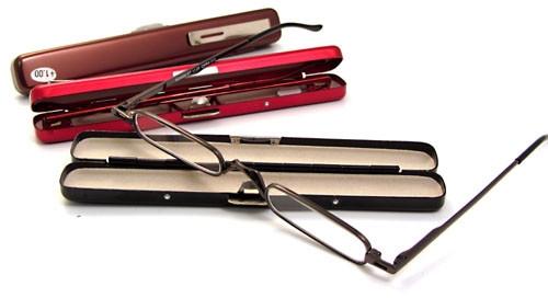 Compact Mini Reading Glasses / Copper