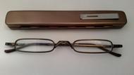 Compact Mini Specs With Case  Copper