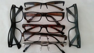 multi-pack men's reading glasses +1.00