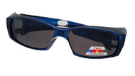 Blue Fit Over Sunglasses
