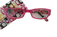 Livi Designer Style Women's Reading Glasses/ Pink