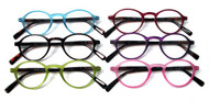 Lizzie Oval plastic women's reading glasses