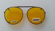 night driver clip on glasses 48mm