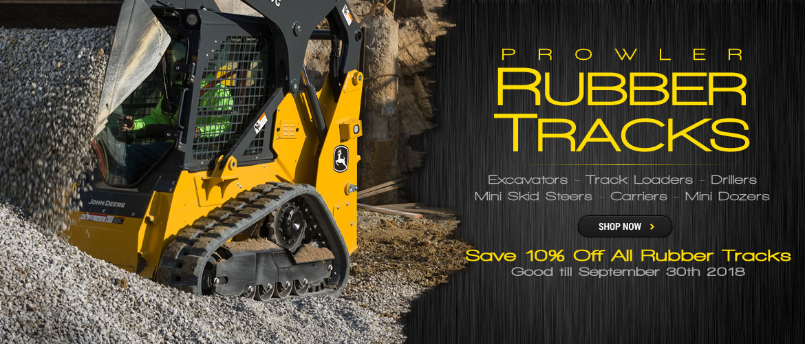 10 Percent Off Rubber Tracks