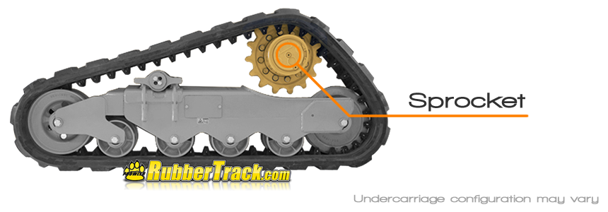 Case TV380 Drive Sprocket