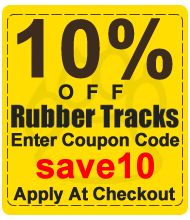 save 10 percent off tracks