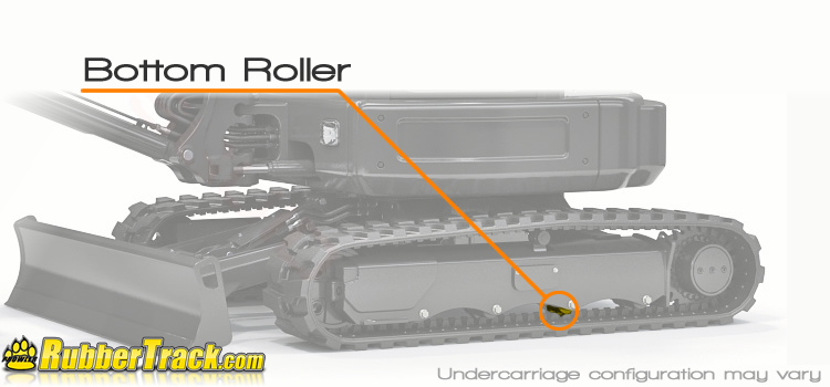 Caterpillar 304.5 Bottom Roller