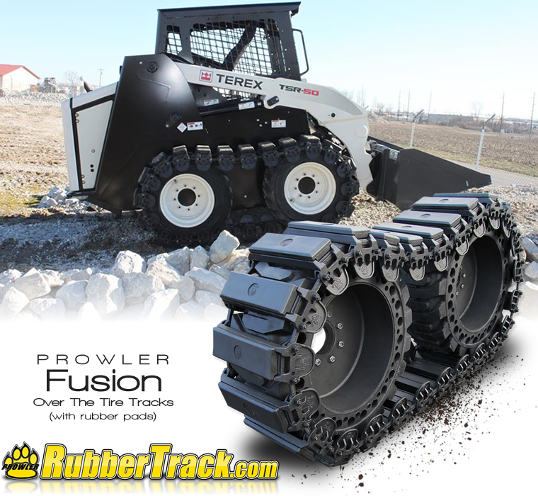 Fusion Rubber Over The Tire Tracks