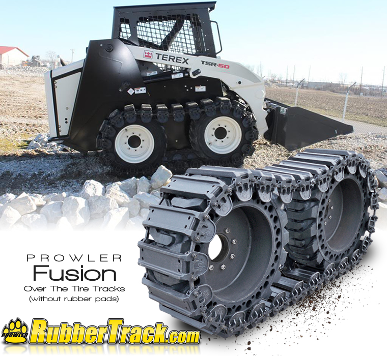 10 Inch Prowler Fusion Skid Steer Over The Tire Tracks