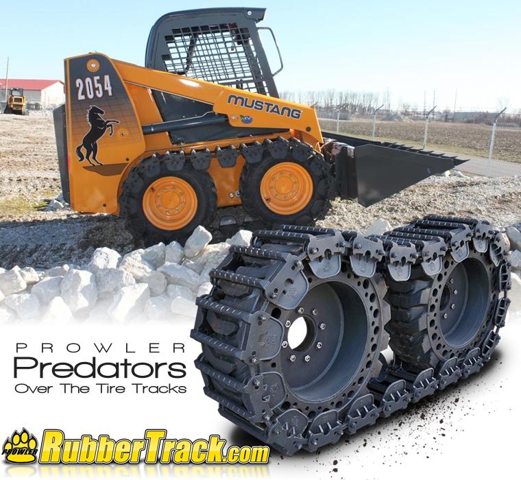 Predator Over The Tire Tracks