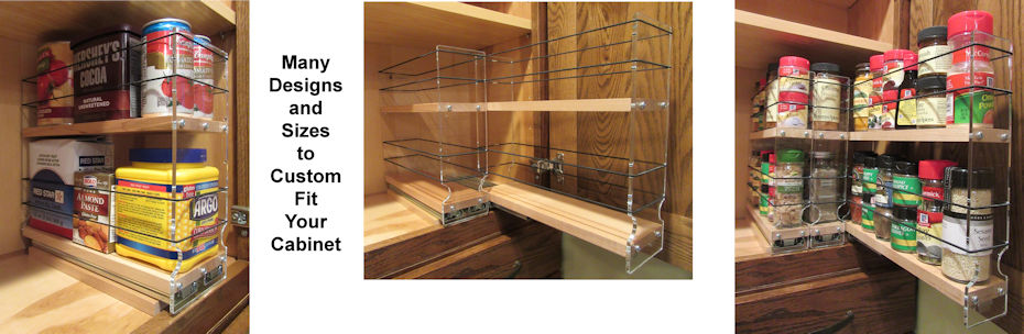 Spice Racks Maple in Many Designs