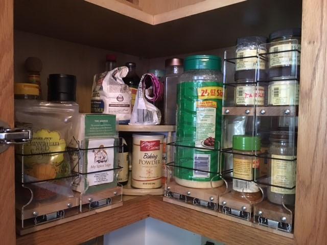 Kitchen Corner Cabinet Organizers
