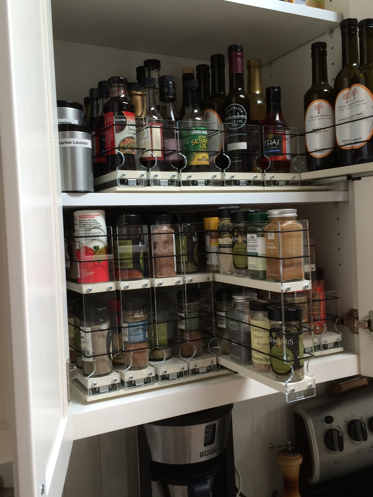 Organized Spice Storage